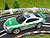 Carrera GO Porsche GT3 Polizei silber/grün 61112