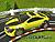 SCX Compact Toyota Celica T23 Tuner gelb/schwarz