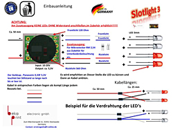 Slotlight 3 Anschlussplan