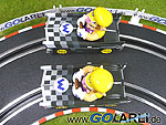 """Carrera GO!!! Mario Kart """"Wario Brute"""" Art.Nr. 61038 Modell 1 und 2 Draufsicht"""