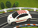 "Carrera GO!!! Fiat 500 Abarth ""weiß"" Art.Nr. 61131"