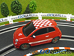"Carrera GO!!! Fiat 500 Abarth ""rot"" Art.Nr. 61132"