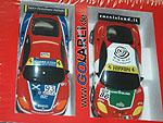 SCX Compact Ferrari 360 GTC Nr.86 und SCX Compact Ferrari 360 GTC Nr.93