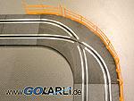 Carrera GO!!! / Digital 143 Spurwechsel Kurve Art.Nr. 61655