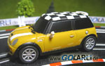 Carrera GO Mini Cooper S Mellow Yellow 61042