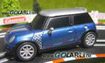 Carrera GO Mini Cooper S Checkmate 61043