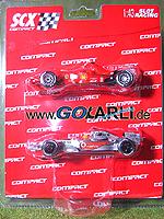 SCX Compact F1 Fahrzeuge 2008 37010