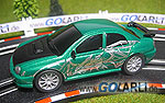 Carrera GO 1:43 Subaru Impreza Dragon 61088 mit Groundlight