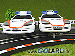 Carrera GO Porsche GT3 Polizei Art.Nr. 61318 Nummernschildvariante